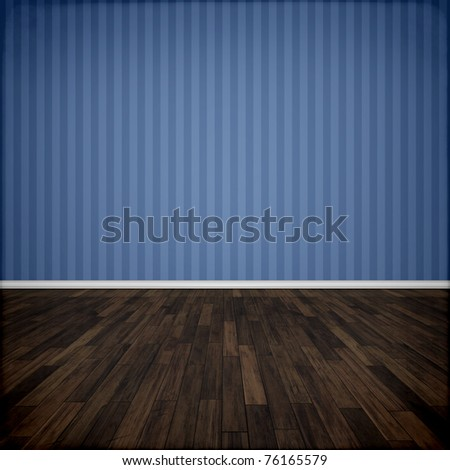 An image of a beautiful blue room