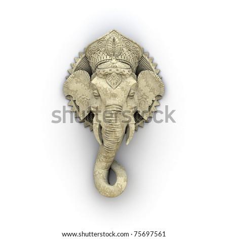 An image of a beautiful elephant sculpture