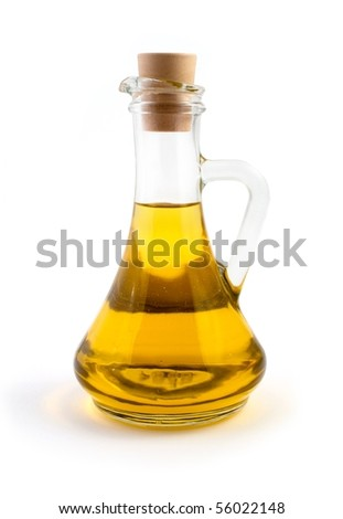 An image of a bottle of olive oil