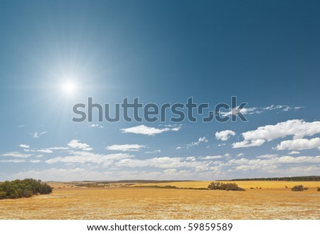 An image of a bright sky desert background #59859589