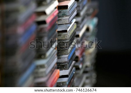 An Image of a cd Collection - Music cds