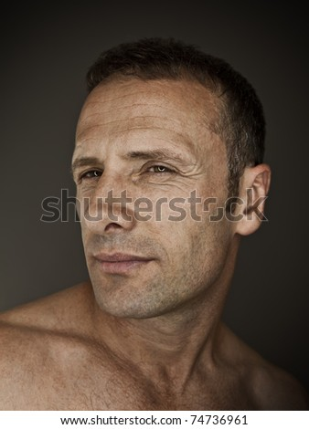 An image of a handsome man portrait