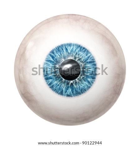 An image of a nice blue eye ball