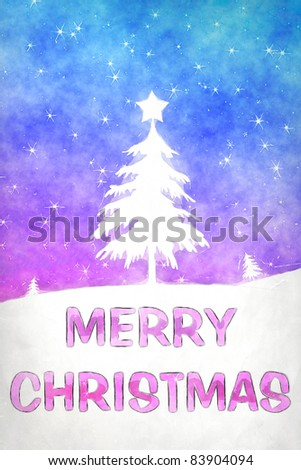 An image of a nice blue pink christmas background