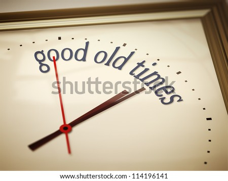 An image of a nice clock with good old times