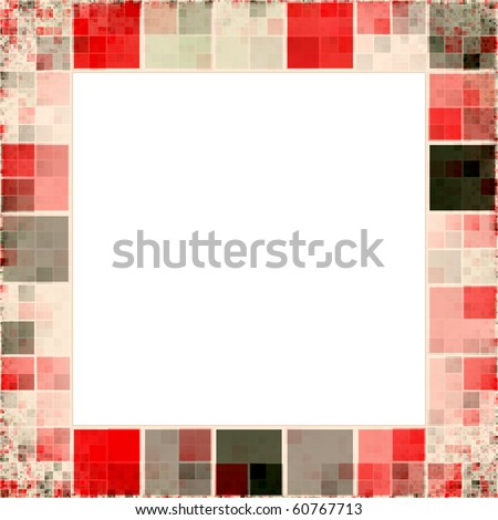 An image of a nice frame of colored squares