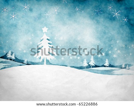 An image of a nice grunge christmas background