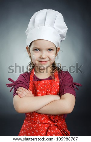 An image of a nice little chef