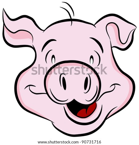 An image of a pig head.