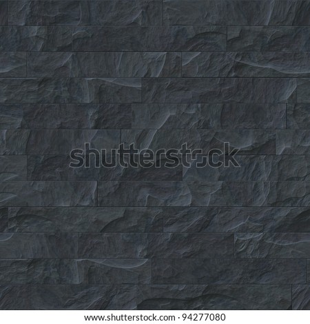 An image of a seamless black stone texture