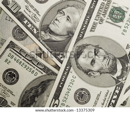 an image of american dollars