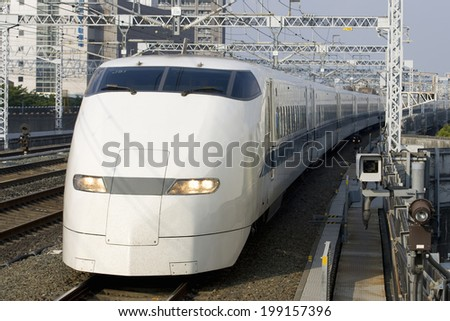 An Image of Bullet Train #199157396