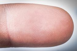 an image of human finger close up