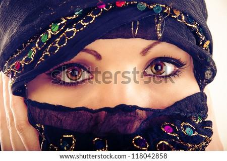 An image of muslim girl wearing hijab