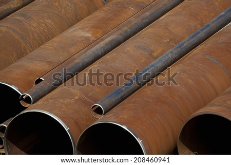 An image of Rusty Iron Pipe