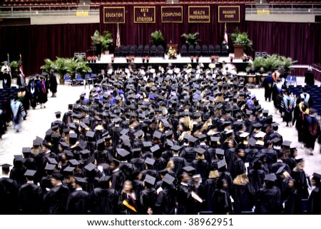 an image of students at graduation ceremony