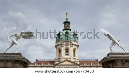 An image of the beautiful Castle Charlottenburg in Berlin