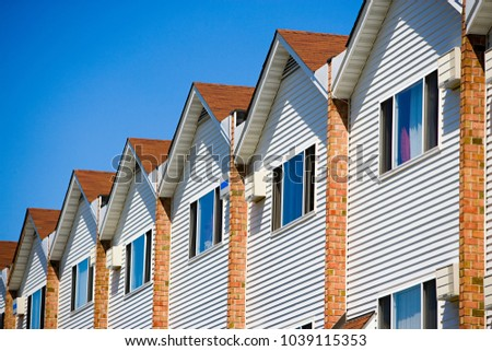 An image of Tract houses in new jersey #1039115353