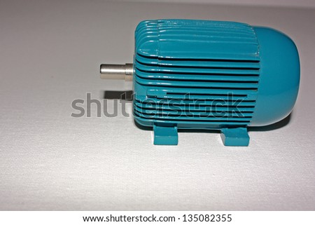 An image showing the side view of a model of an electric for We buy electric motors