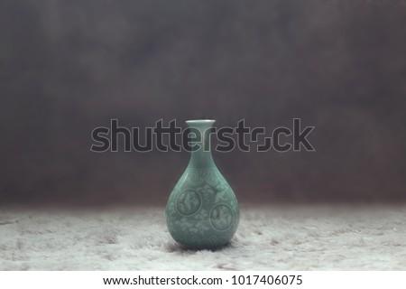 AN imitation of Goryeo celadon  #1017406075