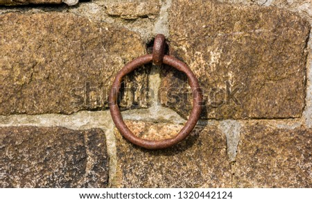 An iron ring #1320442124