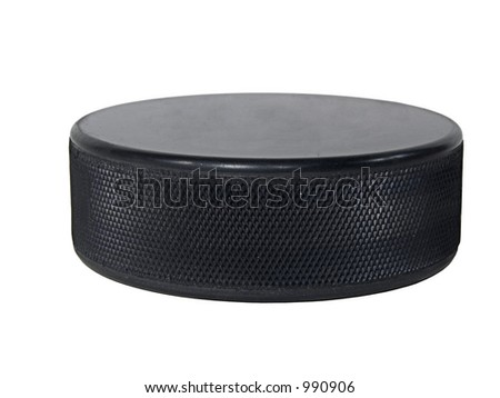 An Isolated Hockey Puck