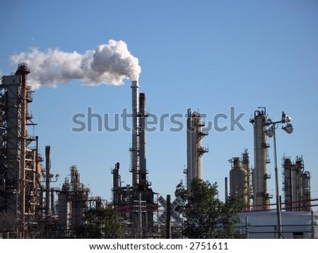 uma refinaria de óleo em Chalmette, Louisiana