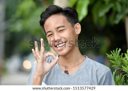 An Okay Filipino Teenage Male