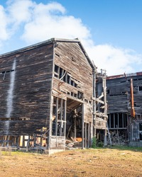 An old, abadoned sawmill in Donnelly River in Western Australia.