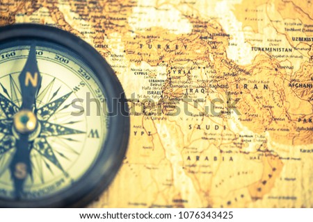 Free photos west jordan country avopix an old compass on vintage world map compass on map background close up gumiabroncs Image collections