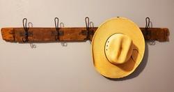 An Old Cowboy's Hat Rack