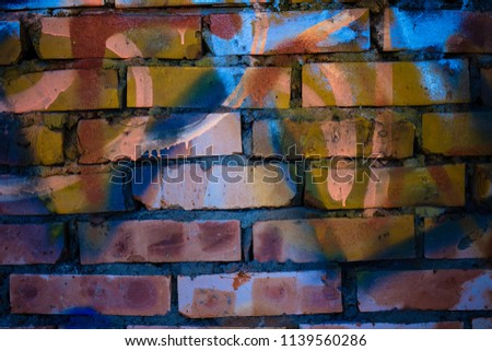 High Resolution Broken Brick Wall Background Images And Stock Photos