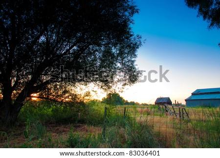 an old farm in plain city utah.