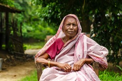 An Old Indian Lady