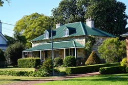 An old stone building in Raymond Terrace