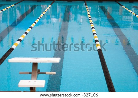 Olympic Size Swimming Pool an olympic size swimming pool stock photo 327106 : shutterstock