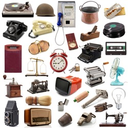 an original great vintage objects collection