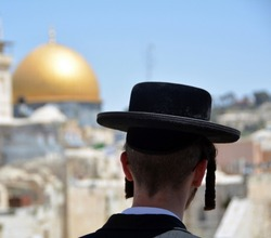 An orthodox Jew in Jerusalem