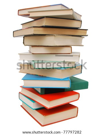 An vintage book section - stock photo
