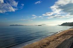 Anago beach in the morning Itoshima Fukuoka