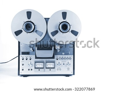 Analog Stereo Open Reel Tape Deck Recorder Player with Metal Reels Reels #322077869