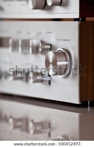 Analog Stereo Volume Knob Control