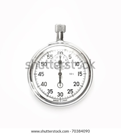 Analog stop watch (it is made in the USSR)