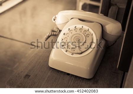 Analog telephone / Vintage look #452402083