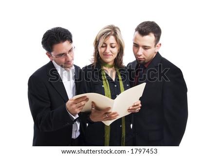 Analysing Business Team