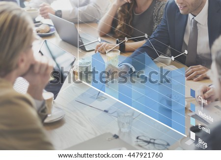 Analysis Analytics Business Statistics Concept