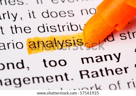 analysis word