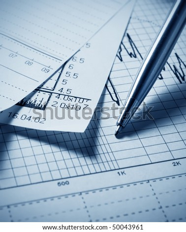 Analyzing financial chart
