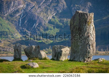 Ancient And Mystical Standing Stones