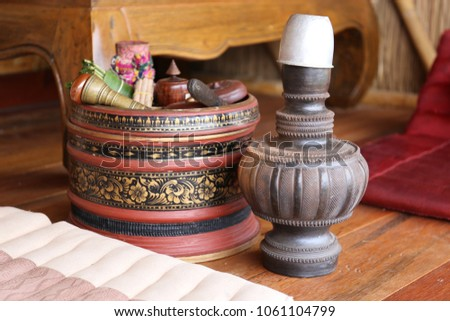 Ancient appliances Of the ancient Thai people